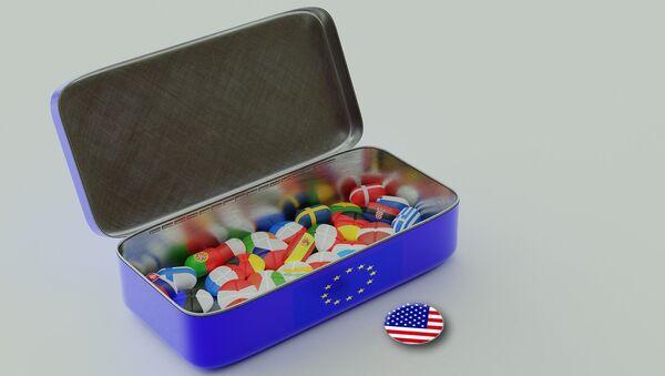 Европска унија и САД - Sputnik Србија
