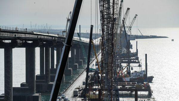 Изградња Кримског моста - Sputnik Србија