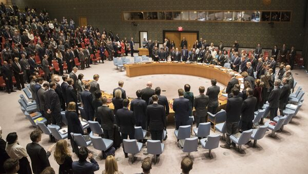 Minut ćutanja za Vitalija Čurkina u Savetu bezbednosti UN - Sputnik Srbija