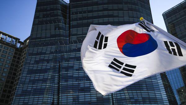 Застава Јужне Кореје у Сеулу - Sputnik Србија