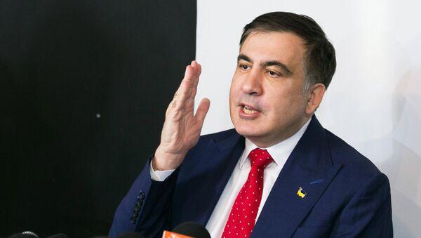 Бивши председник Грузије Михаил Сакашвили у Варшави - Sputnik Србија