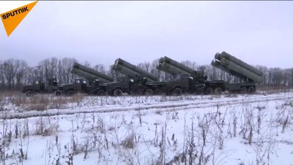 Taktička vežba sa kompleksima S-300PM1 - Sputnik Srbija