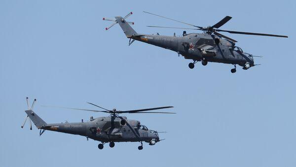 Helikopter Mi-35 - Sputnik Srbija