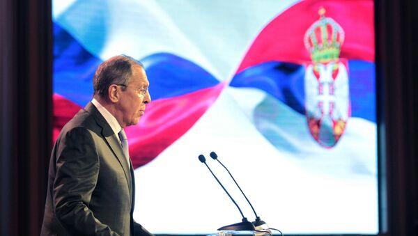 Ministar spoljnih poslova Rusije Sergej Lavrov u Hramu Svetog Save u Beogradu - Sputnik Srbija