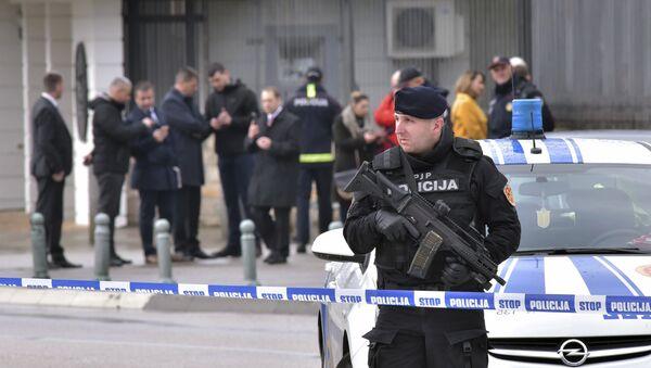 Napad na američku ambasadu u Podgorici - Sputnik Srbija