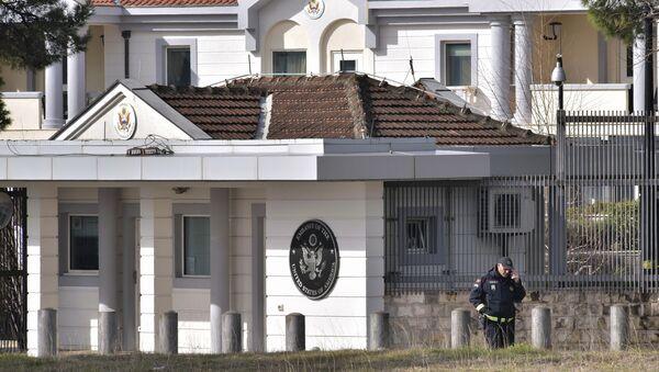Američka ambasada u Podgorici - Sputnik Srbija