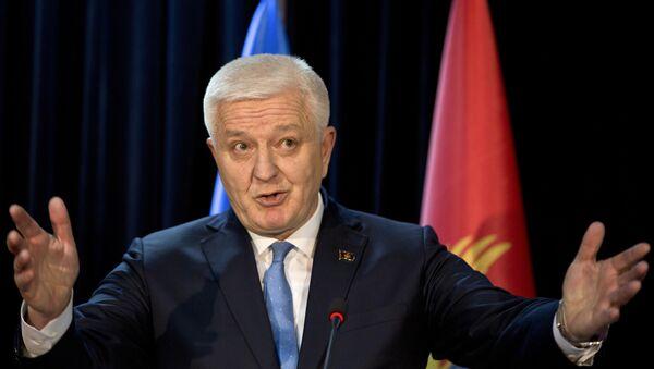 Премијер Црне Горе Душко Марковић - Sputnik Србија