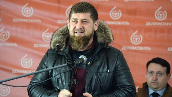 Čečenski lider Ramzan Kadirov - Sputnik Srbija