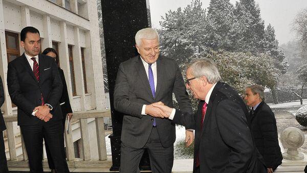 Žan Klod-Junker i Duško Marković - Sputnik Srbija