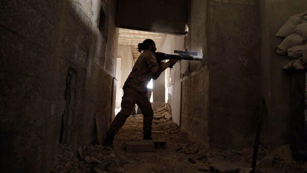 Sirijski pobunjenici u Istočnoj Guti - Sputnik Srbija