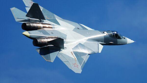 Руски војни авиони Су-57 - Sputnik Србија