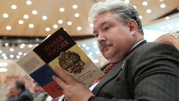 Kandidat za predsednika Rusije Sergej Baburin - Sputnik Srbija
