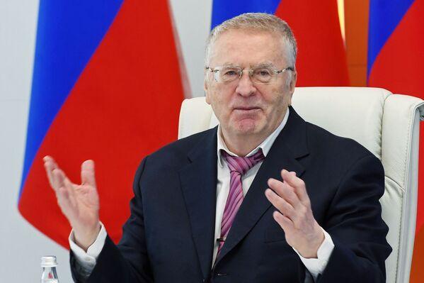 Кандидат за председника Русије из Либерално-демократске партије Владимир Жириновски - Sputnik Србија