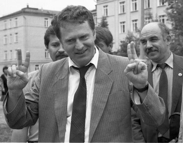 Кандидат Либерално-демократске партије за председника Русије Владимир Жириновски - Sputnik Србија