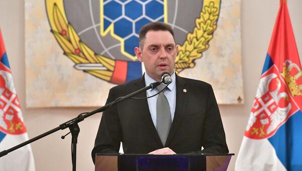 Aleksandar Vulin na proslavi Dana Vojnoobaveštajne agencije - Sputnik Srbija