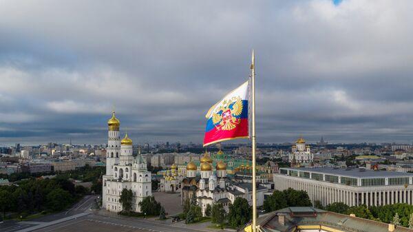 Застава Русије на Кремљу - Sputnik Србија