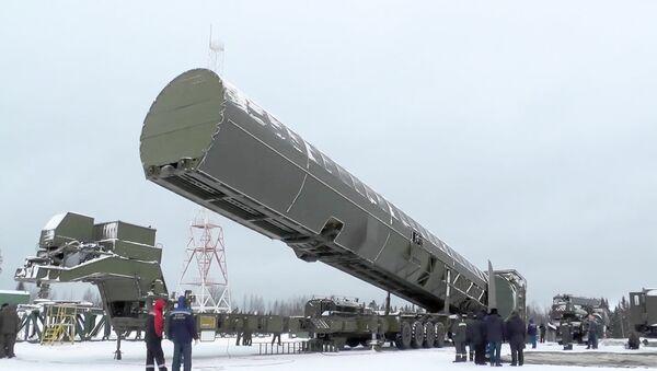 Интерконтинентална балистичка ракета Сармат - Sputnik Србија