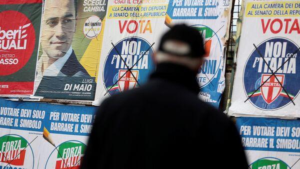 Predizborna kampanja u Italiji - Sputnik Srbija