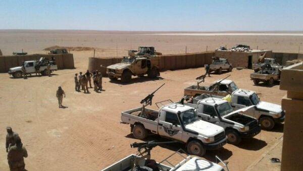 Америчка војна база у Ел Танфу у Сирији - Sputnik Србија