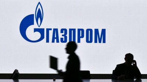 Štand kompanije Gasprom na sajmu u okviru Ruskog investicionog foruma u Sočiju - Sputnik Srbija