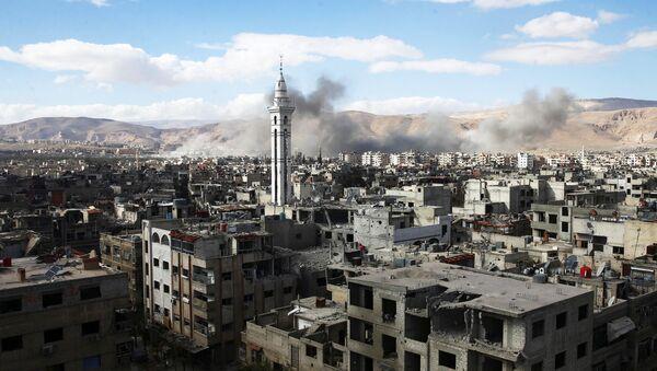Istočna Guta u Damasku - Sputnik Srbija