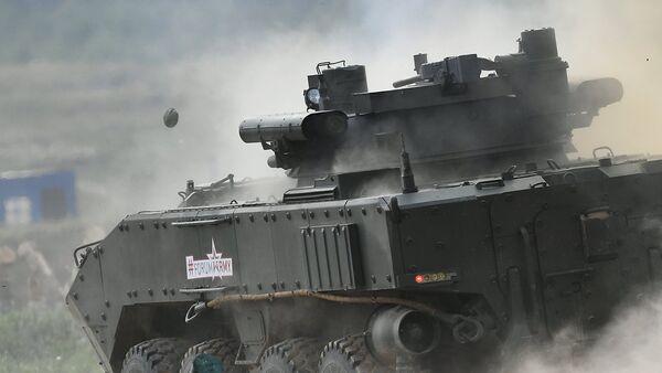 Борбено пешадијско возило К-17 Бумеранг на сајму војне технике Армија 2017. - Sputnik Србија