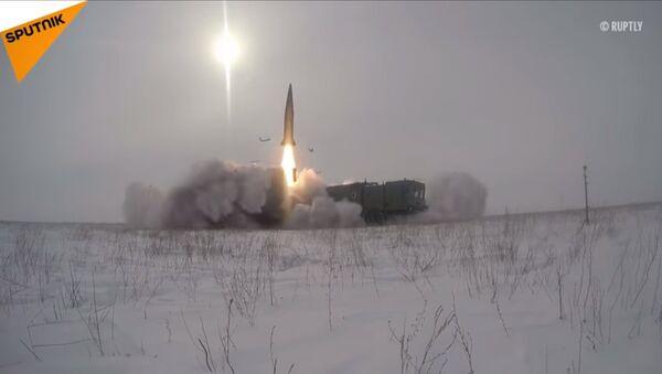 Лансирање ракете из Искандера - Sputnik Србија