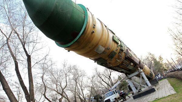 Интерконтинентална балистичка ракета РС-20 - Sputnik Србија