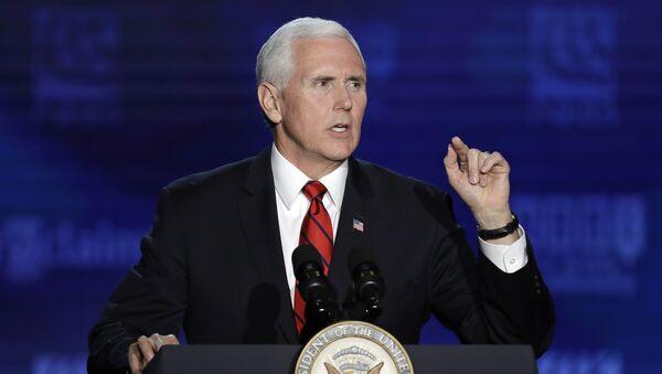 Потпредседник САД Мајкл Пенс - Sputnik Србија