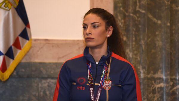 Naša atletičarka Ivana Španović - Sputnik Srbija