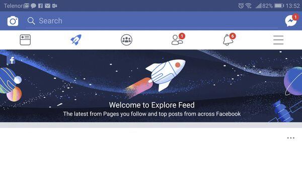 Skrinšot Fejsbuka - Sputnik Srbija