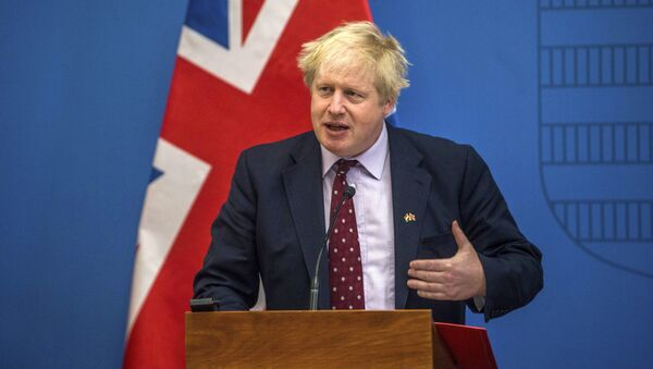Ministar spoljnih poslova Velike Britanije Boris Džonson - Sputnik Srbija