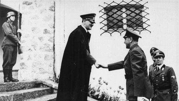 Adolf Hitler i Ante Pavelić - Sputnik Srbija