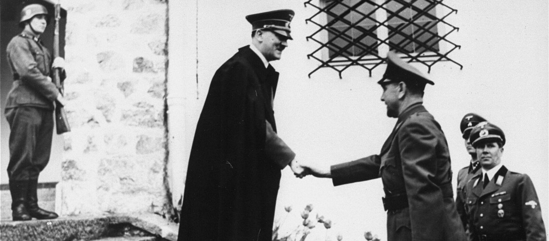 Adolf Hitler i Ante Pavelić - Sputnik Srbija, 1920, 26.04.2021
