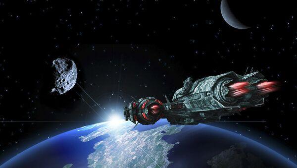 Rat u svemiru - ilustracija - Sputnik Srbija