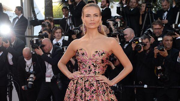 Russian supermodel Natalia Polevshchikova at the 69th Cannes Film Festival. - Sputnik Srbija