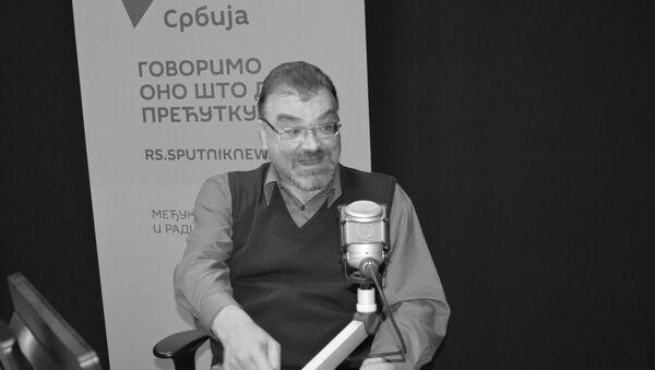 Istoričar Andrej Šemjakin - Sputnik Srbija