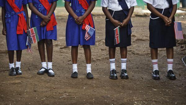 Deca u Keniji dočekuju Reksa Tilersona. - Sputnik Srbija