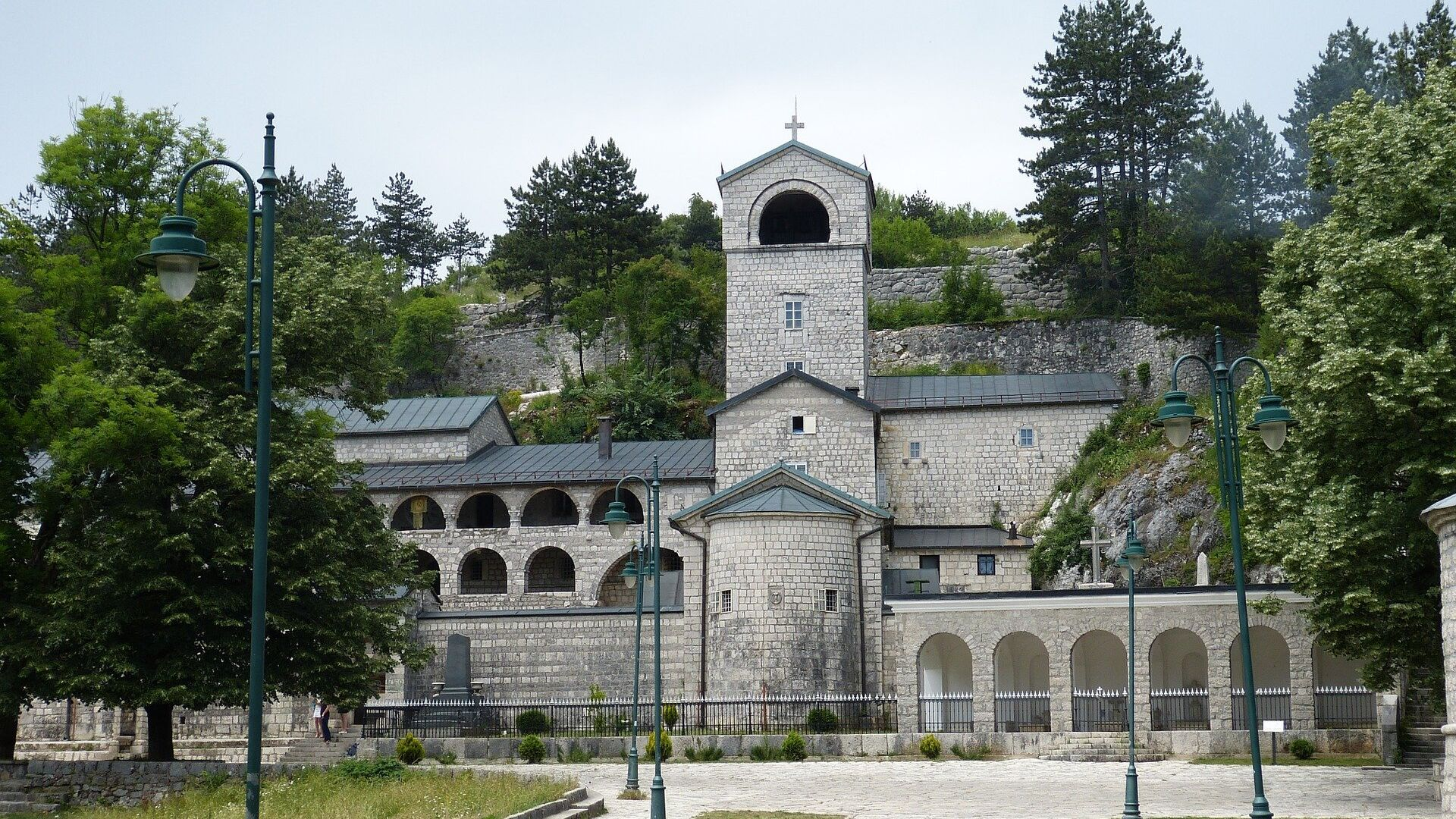 Manastir u Cetinju. - Sputnik Srbija, 1920, 02.09.2021