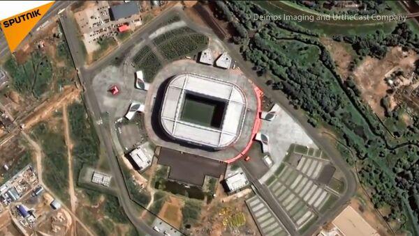 Stadioni na kojima će se igrati SP slikani iz svemira - Sputnik Srbija