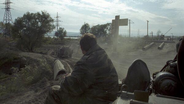 Прва линија. Група савезних снага на Северном Кавказу у Чеченији - Sputnik Србија