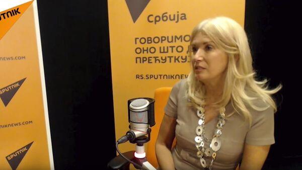 Dr Snežana Lakićević - Sputnik Srbija