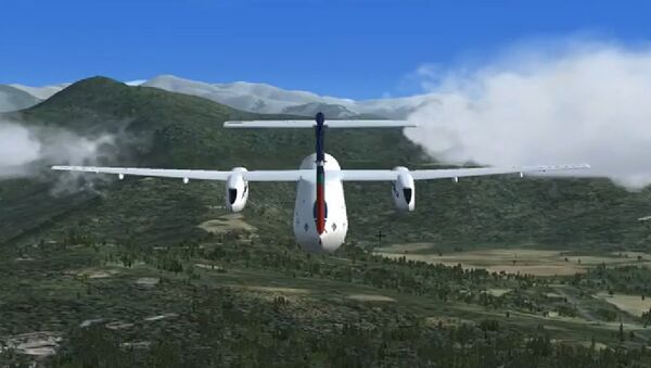 Симулација пад авиона у Непалу - Sputnik Србија