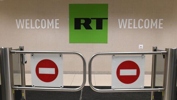 Redakcija televizije RT u Moskvi - Sputnik Srbija