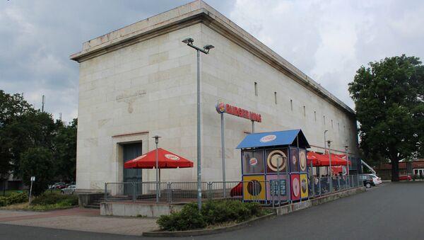 Burger king sa nacističkim orlom na fasadi u Nirnbergu. - Sputnik Srbija