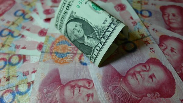 Kineski juan i američki dolar  - Sputnik Srbija