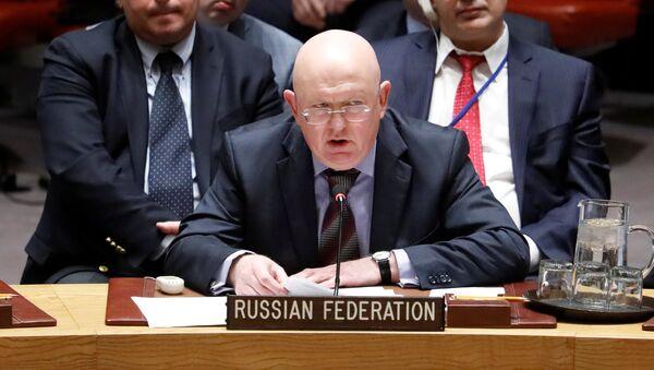 Ambasador Rusije u UN Vasilij Nebenzja - Sputnik Srbija