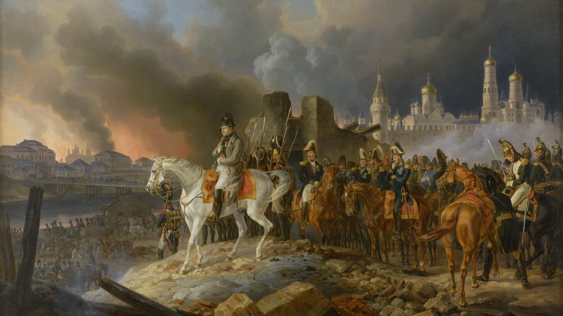 Napoleon pred spaljenom Moskvom - Sputnik Srbija, 1920, 16.09.2021