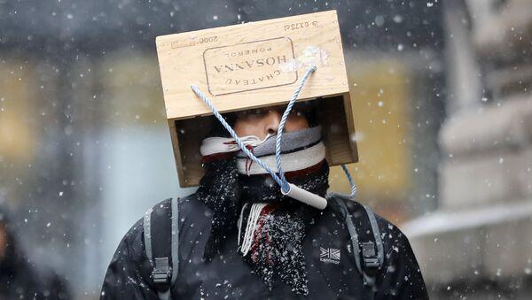 Zima u Londonu - Sputnik Srbija