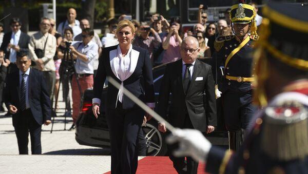 Predsednica Hrvatske Kolinda Grabar Kitarović u poseti Argentini - Sputnik Srbija